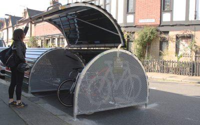 Cyclehoop bike hangar
