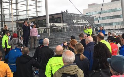 Cycle on the Senedd